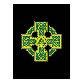 celtic cross btn postcard