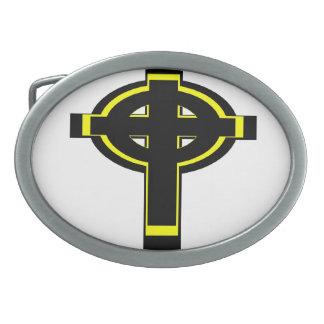 Celtic Cross Buckle Belt Buckle