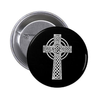 Celtic Cross Button