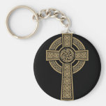 Celtic Cross by Bannigan Artworks Keychain