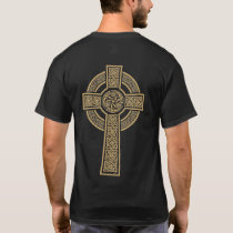 Celtic Cross by Bannigan Artworks T-Shirt