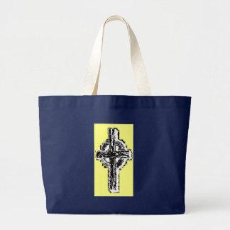 Celtic cross Canvas Tote Bag