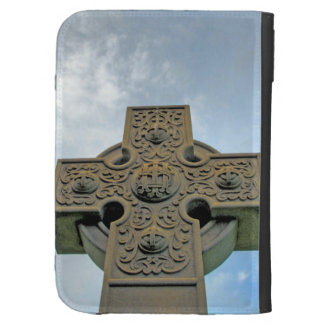 Celtic Cross Caseable Case Kindle Folio Case