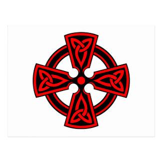 CELTIC CROSS - CELT/IRISH/IRELAND/IRISH/IRISHMAN POSTCARD
