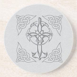Celtic Cross Coaster