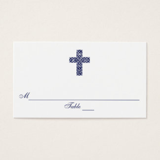 Celtic Cross Communion Seating Place Cards