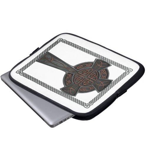 Celtic Cross Computer Sleeves