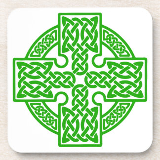 Celtic cross Cork Coaster