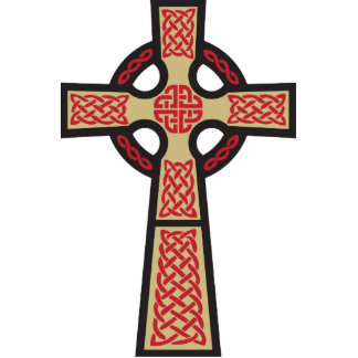 Celtic Cross Doodle Photo Sculpture