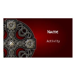 celtic cross Double-Sided standard business cards (Pack of 100)
