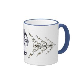 Celtic Cross Drinkware Ringer Mug