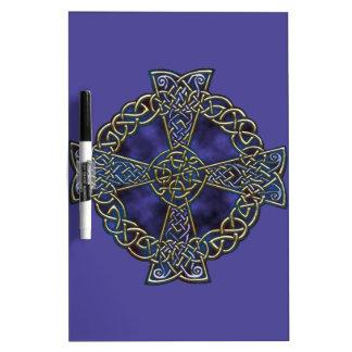 Celtic Cross Dry Erase Board