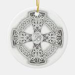 Celtic Cross Fantasy  Irish Ornament