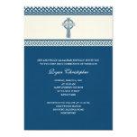"Celtic Cross First Holy Communion Invitation 5"" X 7"" Invitation Card"