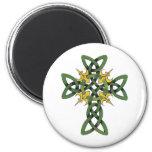 Celtic Cross Fridge Magnet