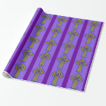 Celtic Cross Gift Wrapping Paper