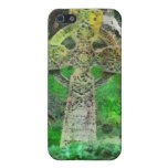 Celtic Cross Gravestone Cover For iPhone 5