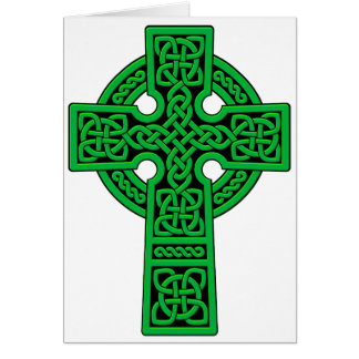 Celtic Cross green Card