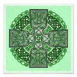 Celtic Cross - Green Photograph