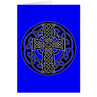 Celtic Cross - Greeting Card