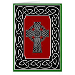 Celtic Cross - Greeting Card