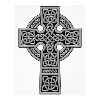 Celtic Cross grey and black Flyer