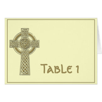 Celtic Cross in Harvest Gold and Mythic Ivory Card