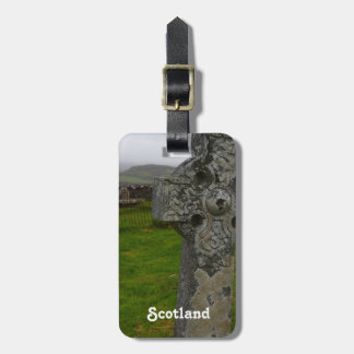 Celtic Cross in Scotland Luggage Tags