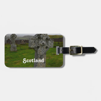 Celtic Cross in Scotland Tag For Bags