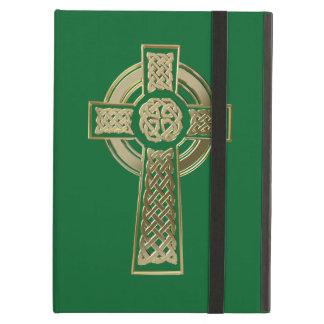 Celtic cross iPad air cover