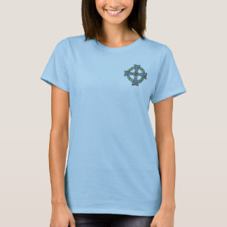 Celtic Cross Irish Art Design T-Shirt