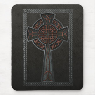 Celtic Cross Mouse Pad