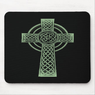 Celtic cross mouse pads