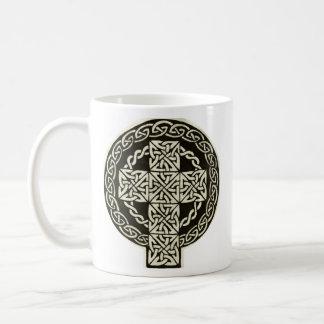 Celtic Cross mug (left)