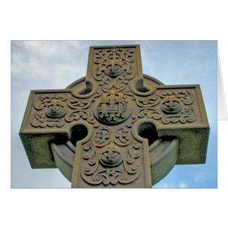Celtic Cross Note Card