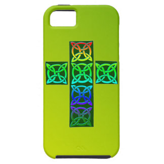 Celtic Cross of Celtic Knots iPhone 5 Case