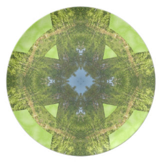 Celtic Cross of Greenery! Party Plates