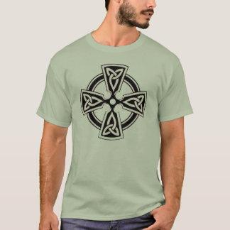 Celtic Cross Pattern Shirt