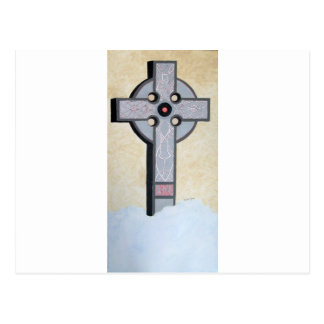 Celtic Cross Post Card