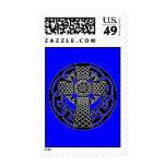 Celtic Cross Postage Stamp