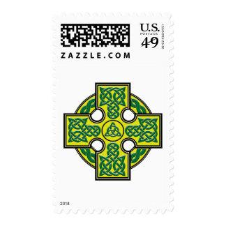 celtic cross postage stamps