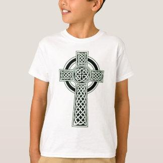 CELTIC CROSS PRINT T-Shirt
