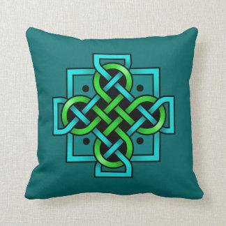 Celtic Cross Reversible Throw Pillow