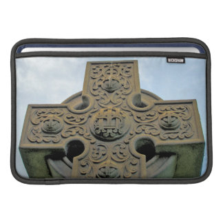 Celtic Cross Rickshaw Sleeve MacBook Sleeve