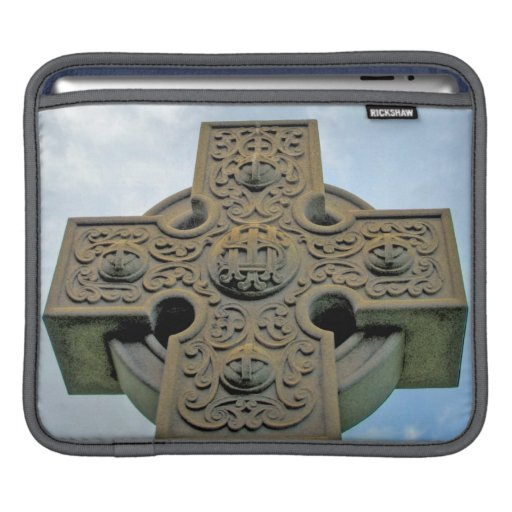 Celtic Cross Rickshaw Sleeve Sleeve For iPads