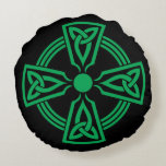 Celtic Cross Round Pillow