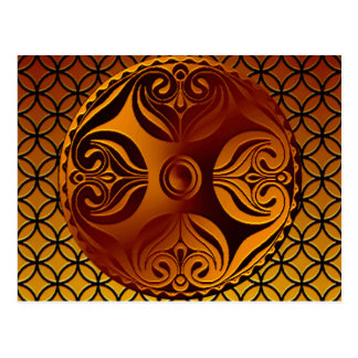 Celtic Cross Roundel Postcard