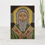 Celtic Cross Saint Patrick Card