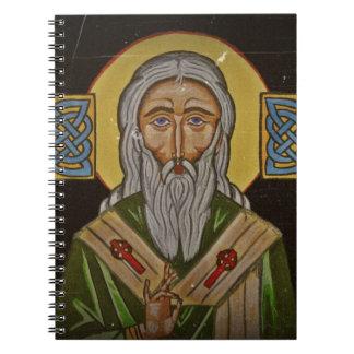 Celtic Cross Saint Patrick Notebook