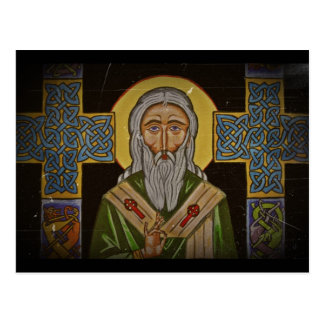 Celtic Cross Saint Patrick Postcard